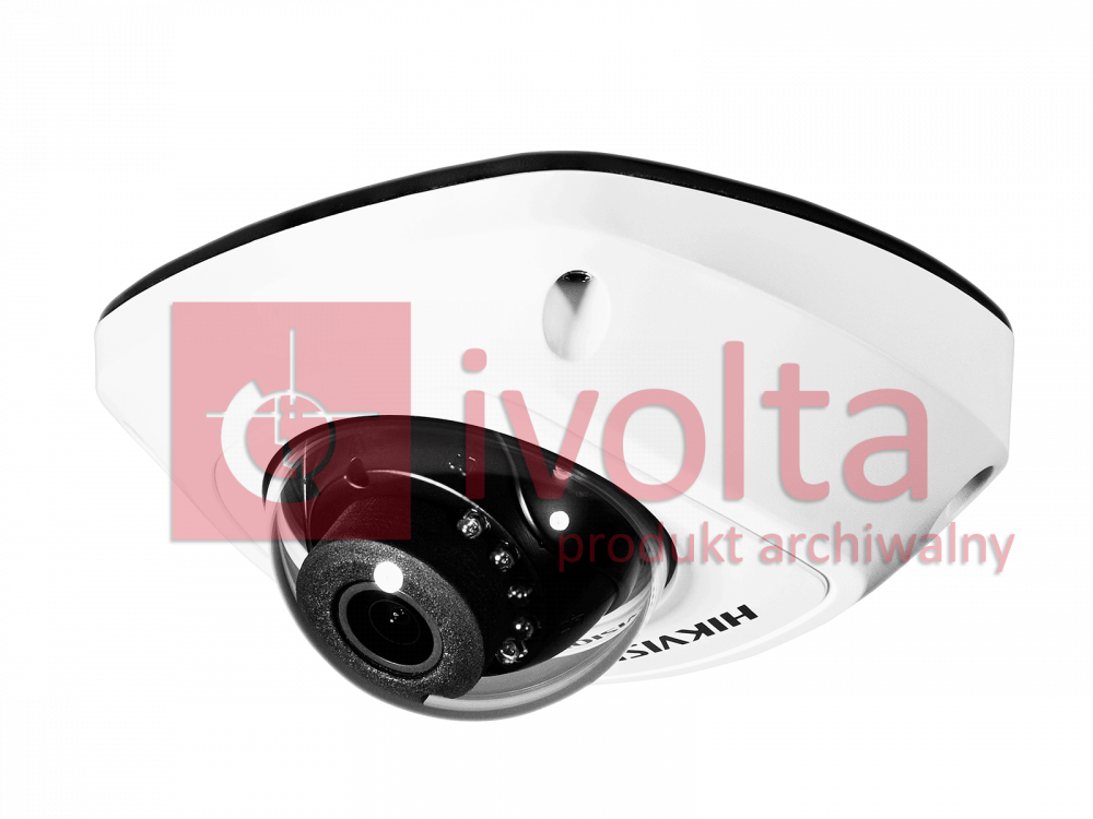 DS-2CD2542FWD-IS(2.8mm) Kamera IP HIKVISION, 4Mpix, kopułkowa, IP66, trueWDR, we/wy alarmowe, audio
