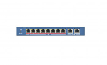 Switch 10-portowy (8xPoE), 110W DS-3E0310HP-E HIKVISION