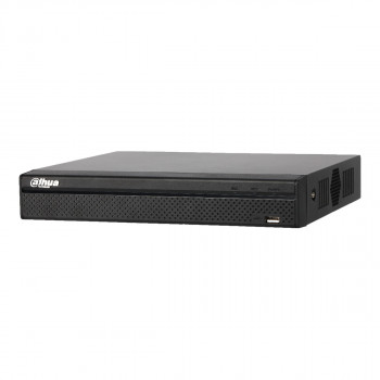 Rejestrator NVR DAHUA, 16x kam. IP, 8xPoE, do 8Mpix NVR4116HS-8P-4KS2 DAHUA