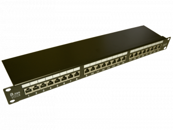 Patch panel STP kat.6 24 porty LSA 1U PK010 Alantec