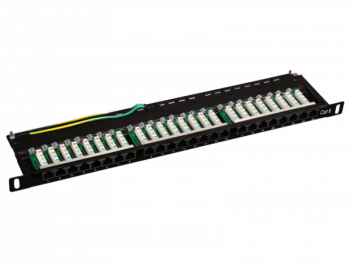 "Patch panel 19"", 24 porty LSA 0.5U PK029 ALANTEC"
