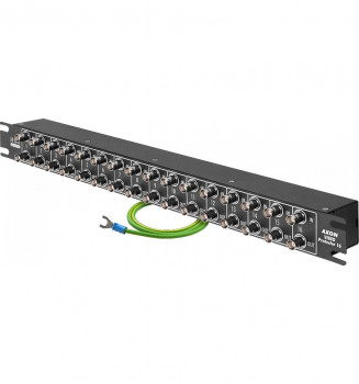 AXON Video Protector BNC Rack 16  kan HSK DATA