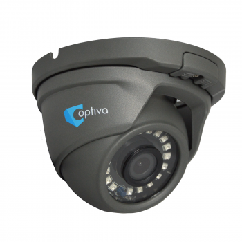 Kamera Multi-HD typu domed, 2Mpix, ob. 2.8mm, IR 15m, szara, IP66 VOHDX944 OPTIVA2B