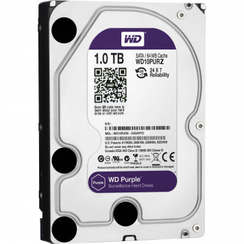 Dysk twardy HDD do CCTV 1TB Western Digital WD10PURZ WD