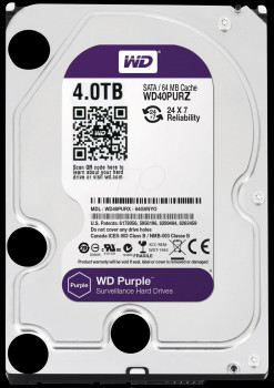 Dysk twardy HDD do CCTV 4TB Western Digital WD40PURZ WD