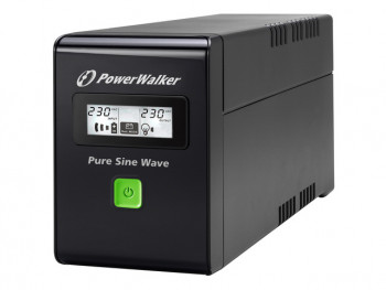 UPS Power Walker Line-Interactive 600VA, bateria 12V 7A VI 600 SW FR POWER WALKER
