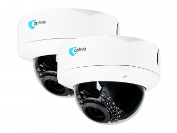 2x Kamery IP OPTIVA, 2Mpix / 1080p, kopuł, zewn, IR do 20m, ob 2.8-12mm, IP66, IK10 ZZ2xVOBIP944M OPTIVA2B