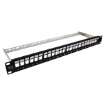 "PK020 ALANTEC Patch panel 19"" modularny, 24 porty 1U"