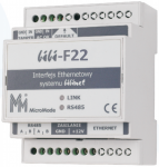 Interfejs Ethernet-RS485 BIBI-F22 MICROMADE