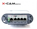 X-CAMSWITCH/12 Zewnętrzny switch PoE do kamer IP.