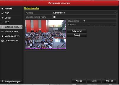 Konfiguracja kamer IP z poziomu rejestratora