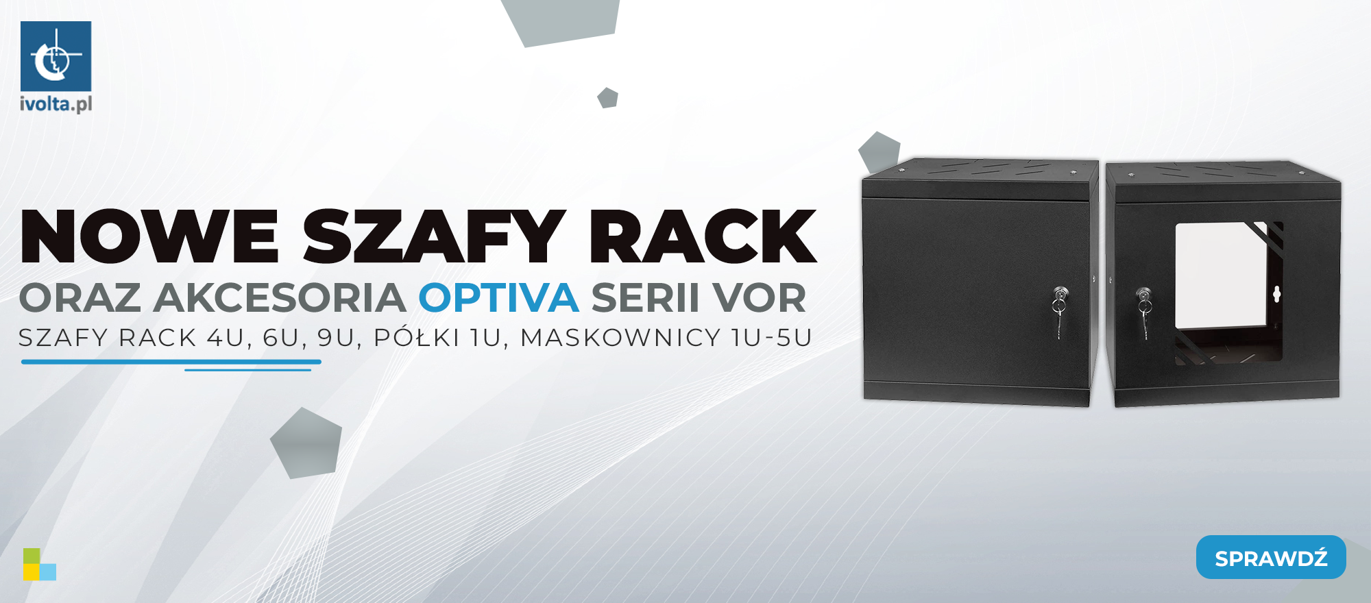 Szafy rack optiva
