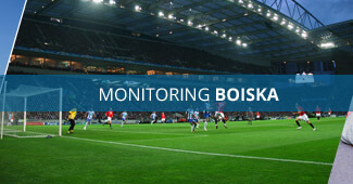 Monitoring boiska